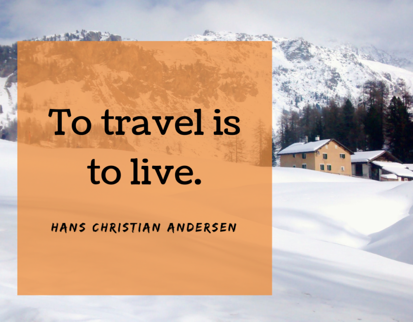 Travel quotes to inspire you to pack up and fly away.