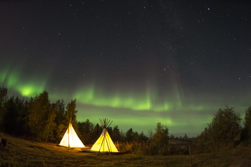 Airbnb Adventures offers glamping in the Northern Lights.