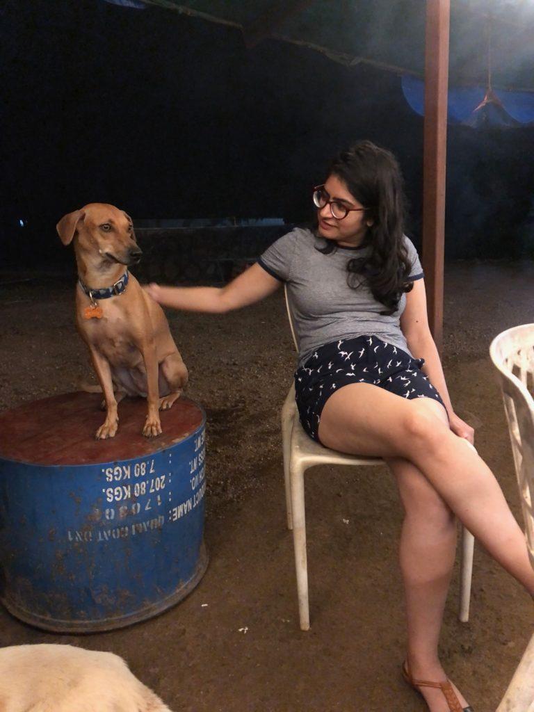 At Phoebe's Farm in Khopoli.