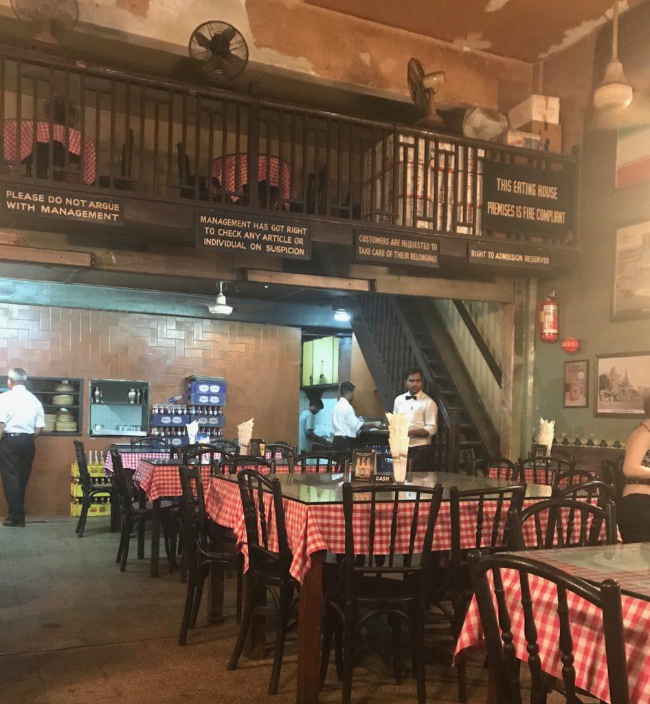 Britannia & Co is a legendary Parsi restaurant in Mumbai.
