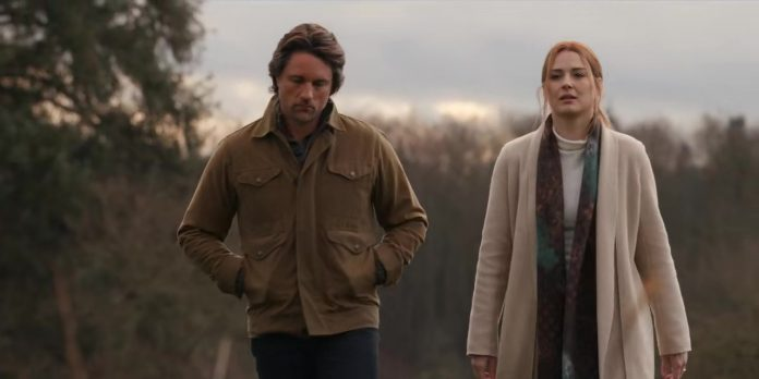 Alexandra Breckenridge and Martin Henderson in Virgin River series on Netflix.