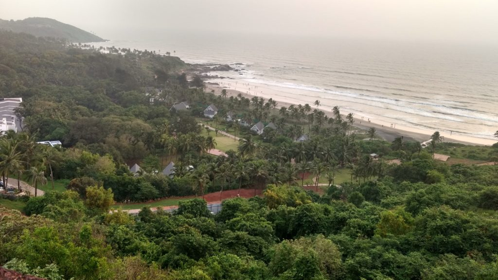 A must-do in Goa: Watching the sunset.