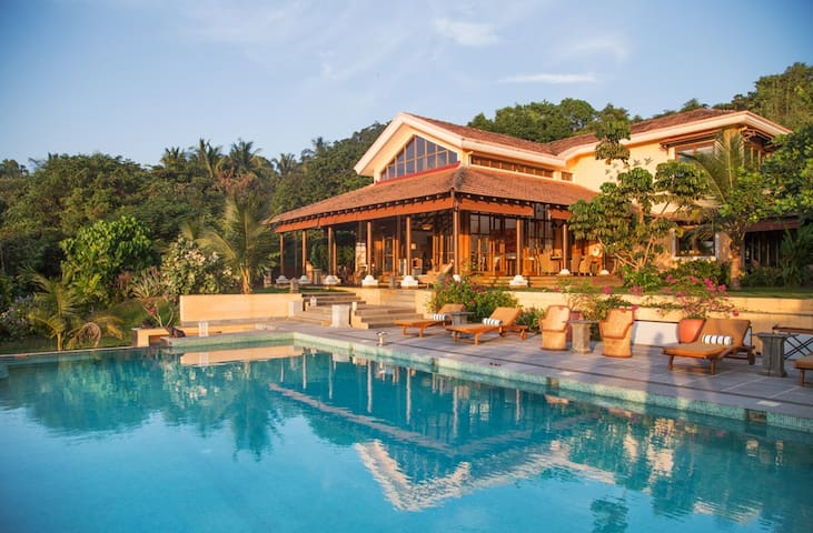 Summertime is a secluded villa in North Goa.