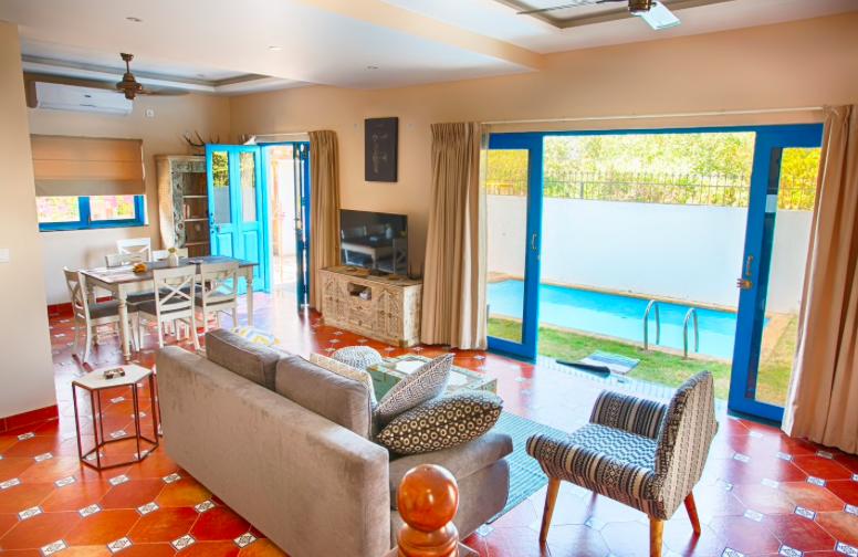 Margarita Villa has a private pool.