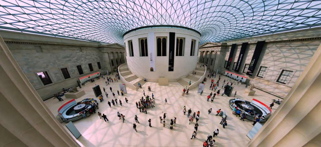 The British Museum in London. Photo by Viktor Forgacs on Unsplash.