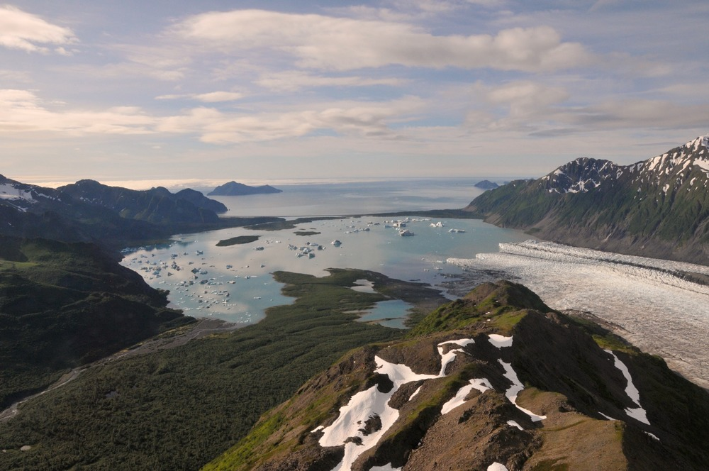 Bear Glacier at Kenai Fjords National Park.