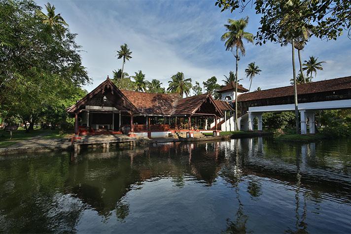 Coconut Lagoon, Kerala.